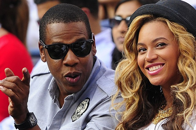 Jay-Z et Beyoncé... (Photo: archives AFP)