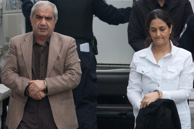 Mohammad  Shafia et sa femme Tooba Mohammad... (Photo: Lars Hagberg, PC)