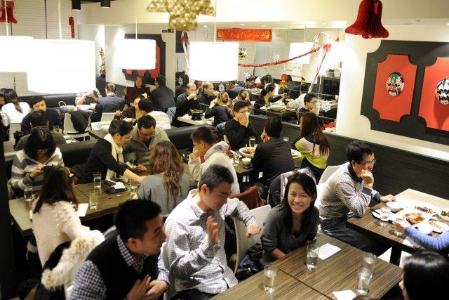 Le KanBai est un restaurant chinois excentrique et... (Photo: Bernard Brault,La Presse)