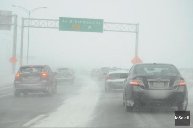 Selon Environnement Canada, la tempête devrait toucher nos... (Phototèque Le Soleil, Patrice Laroche)
