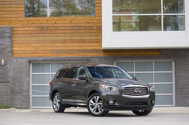 L'Infiniti QX60.... (Photo fournie par Infiniti)