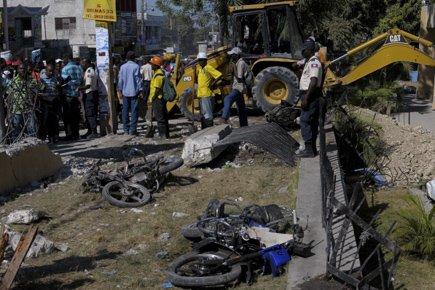 À Port-au-Prince, 29 personnes sont mortes et 67 autres ont été blessées... (Photo: Reuters)
