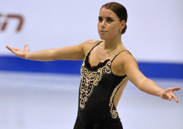 Cynthia Phaneuf souffre d'une fracture de stress au... (Photo: Reuters)