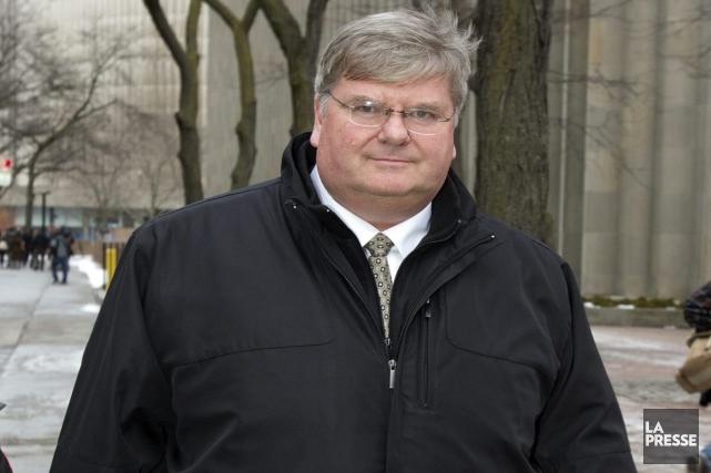 Douglas Beatty, ex-directeur financier de Nortel.... (Photo: La Presse Canadienne)