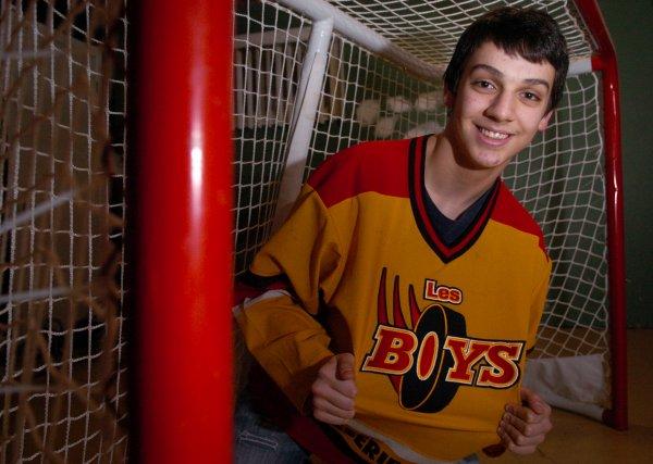 Le Trifluvien Antony Héroux, 15ans, est un des... (Photo: François Gervais)