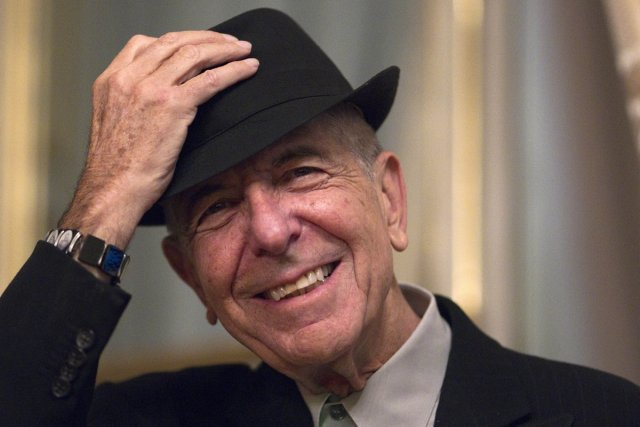 Leonard Cohen... (Photo: Joel Saget, Agence France-Presse)