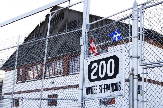 Au centre de prévention de l'immigration de Laval,... (Photo: Ninon Pednault, La Presse)