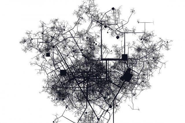 Imaginez une ville dans laquelle tous les bâtiments seraient reliés à un réseau... (Illustration La Presse)