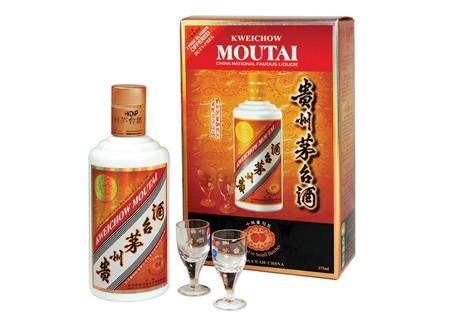 Une bouteille de Moutai... (Photo: AFP)