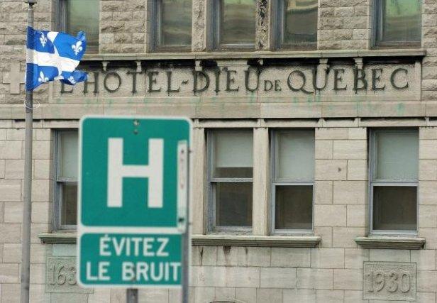 L'Hôtel-Dieu de Québec... (Photothèque Le Soleil, Erick Labbé)
