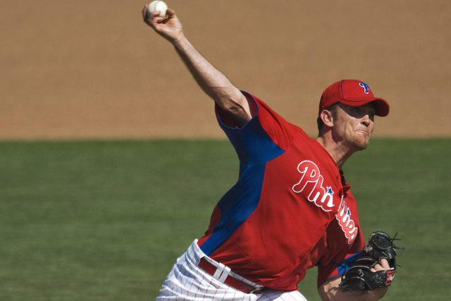 Brad Lidge... (Photo: Reuters)