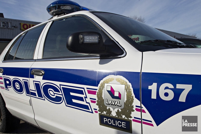 Le Service de police de Laval (SPL) annonce l'arrestation mercredi de sept... (Photo: Patrick Sanfaçon, Archives La Presse)