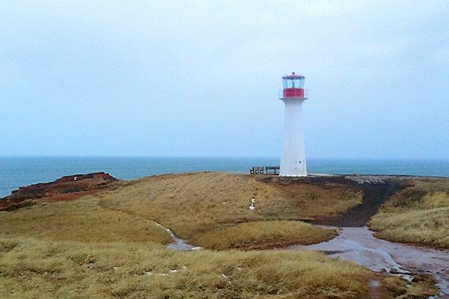 Le phare de l'Étang-du-Nord n'a souvent que le... (Collaboration spéciale, Mylène Moisan)
