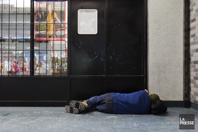 trouver un logement à une personne itinérante n'est... (Photothèque La Presse)