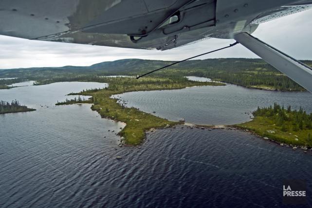 Pour marquer le 40e anniversaire de la Convention de la Baie-James et du Nord... (PHOTO HUGO-SÉBASTIEN AUBERT, ARCHIVES LA PRESSE)