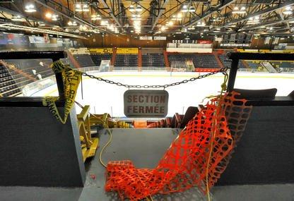 La rénovation du Palais des sports Léopold-Drolet coûtera au moins 500 000 $,... (Imacom, Jocelyn Riendeau)