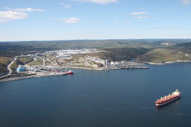 Le port de Baie-Comeau... (Photo fournie par la Ville de Baie-Comeau)