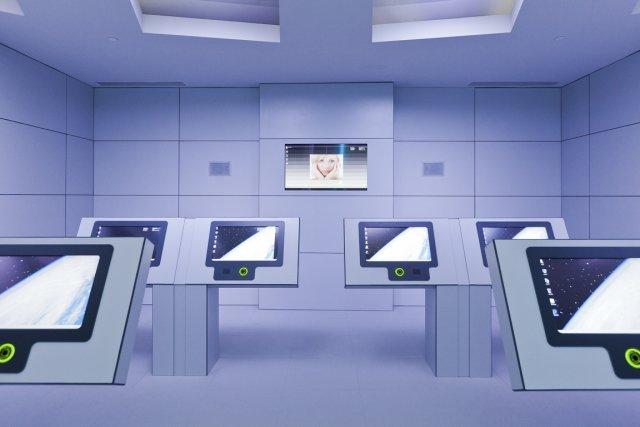 Parmi les activités proposées: essai de simulateurs et... (Photo: Édouard Plante-Fréchette, La Presse)