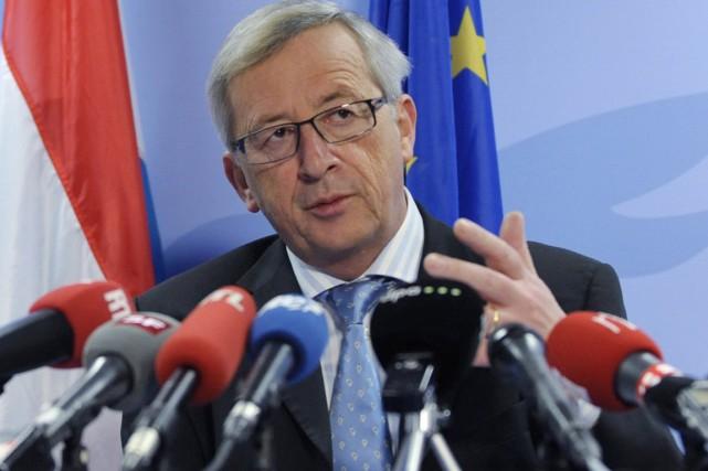 Le président de la Commission européenne, Jean-ClaudeJuncker, qui... (Photo archives Reuters)