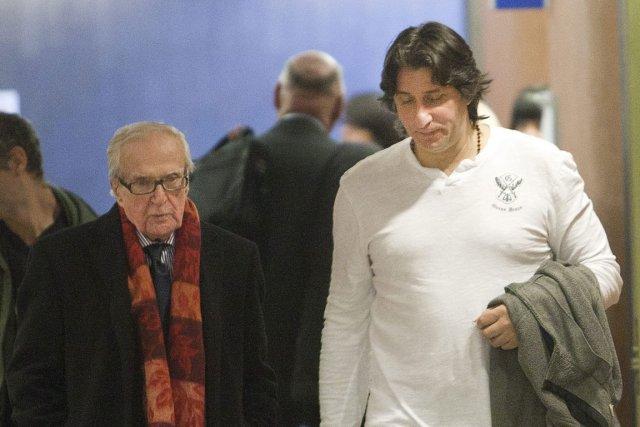 2012 - Le comédien montréalais Tony Conte est déclaré coupable de complot et de... (Photo PC)