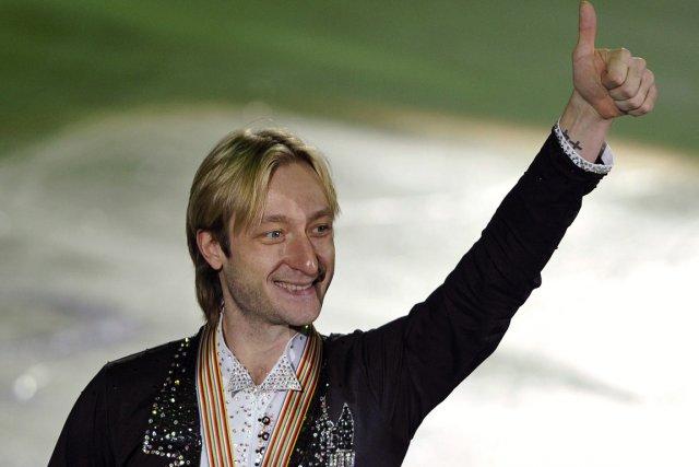 Evgeni Plushenko... (Photo Dylan Martinez, archives Reuters)