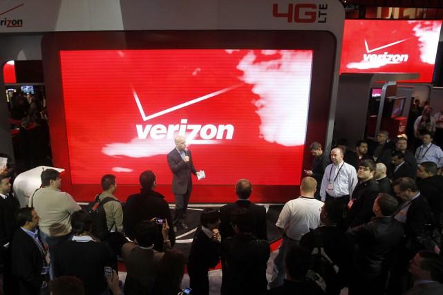Le poids lourd américain des télécoms Verizon a fait part à AOL de son intérêt... (Photo archives AP)