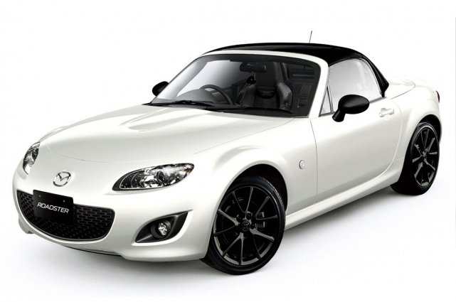 La Mazda MX-5 Special Edition.... (Photo fournie par Mazda)