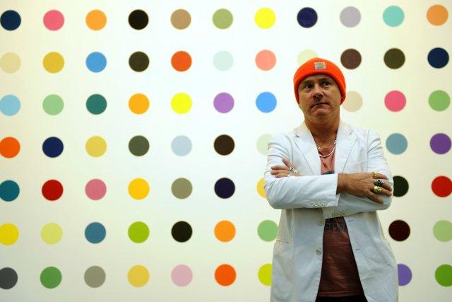 L'artiste britannique Damien Hirst... (Photo: archives AFP)