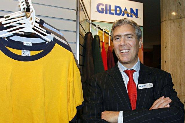 Glenn Chamandy, le président de Gildan Activewear.... (Photo PC)