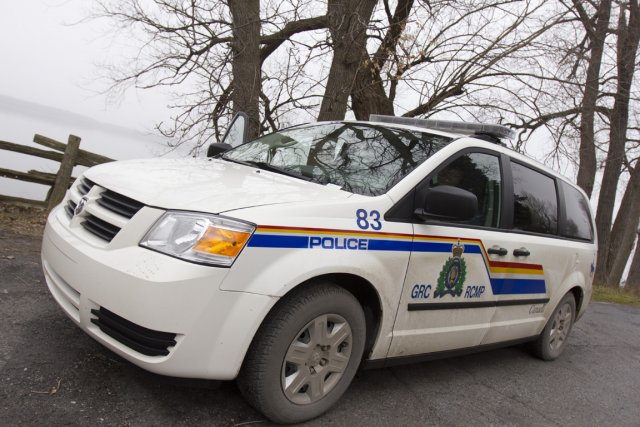 La Gendarmerie royale du Canada confirme la mise... (Photo: Martin Leblanc, La Presse)
