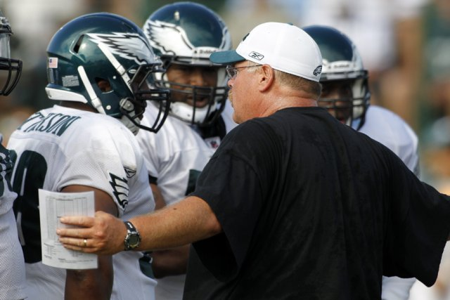 Selon les casinos de Las Vegas, les Eagles... (Photo: AP)