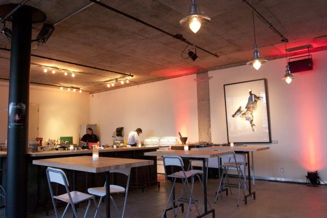 Le labo culinaire FoodLab de la Société des... (Photo: Ninon Pednault, La Presse)