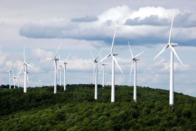 Bien que 80% des éoliennes seront érigées sur... (Photothèque Le Soleil)