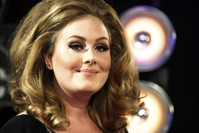 Adele.... (Photo: Reuters)