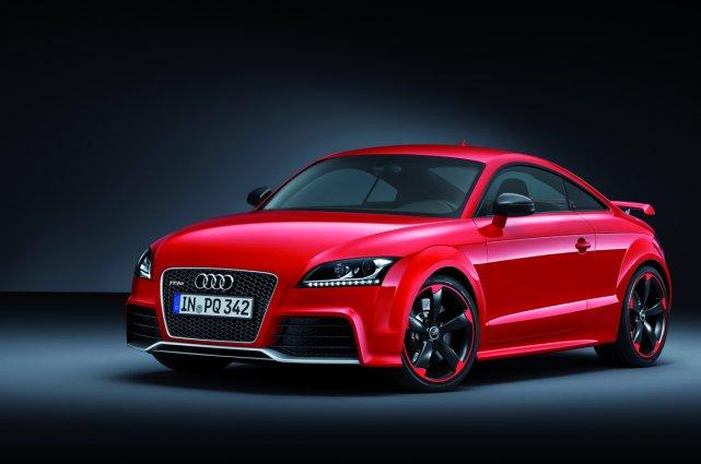 L'Audi TT RS Plus, qui sera dévoilée au... (Photo fournie par Audi)