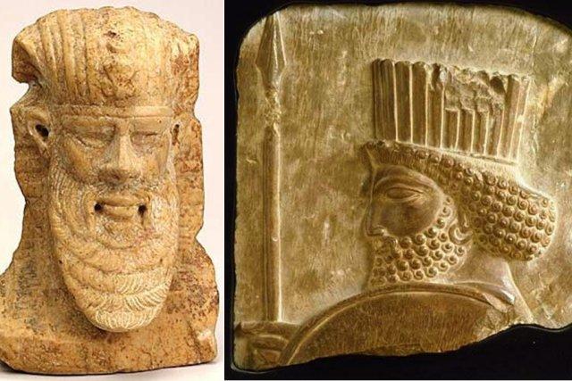 Une des oeuvres volées est une tête d'homme... (Photos fournies par le MBAM)