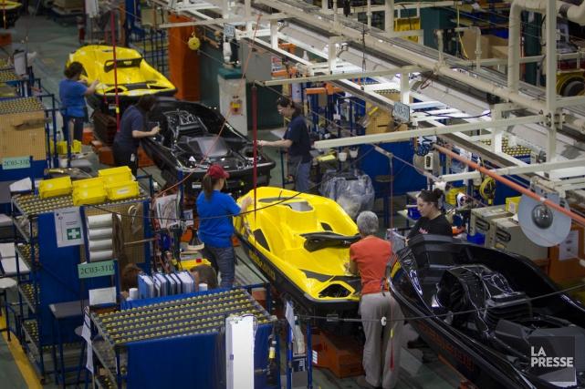 BRP rapporte aussi des revenus de 1,027 milliard... (Photo André Pichette, La Presse)