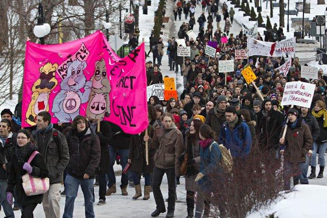 Hélas, la tradition qui prévaut au Québec semble... (Photo: Patrick Sanfaçon, La Presse)