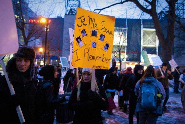 C'était la troisième marche annuelle commémorative pour les... (Photo: André Pichette, La Presse)