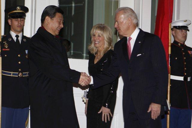 Xi Jinping (à gauche) a été l'invité d'honneur... (Photo: Larry Downing, Reuters)