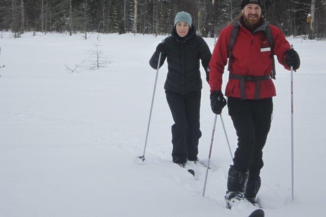 Deux options sont offertes pour s'initier au ski... (Photo: Stéphanie Morin, La Presse)