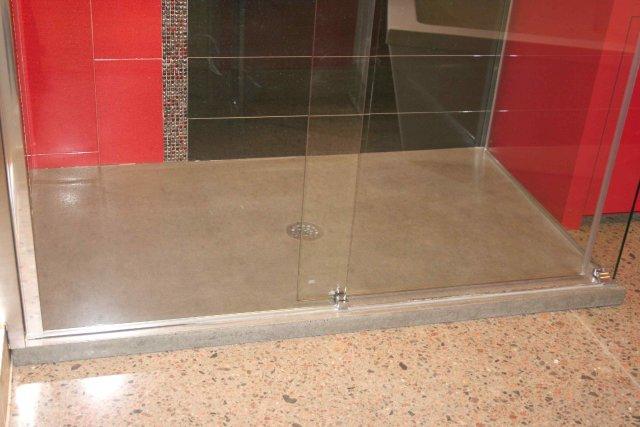 les bases de douche en b ton un must sophie richard toit et moi. Black Bedroom Furniture Sets. Home Design Ideas