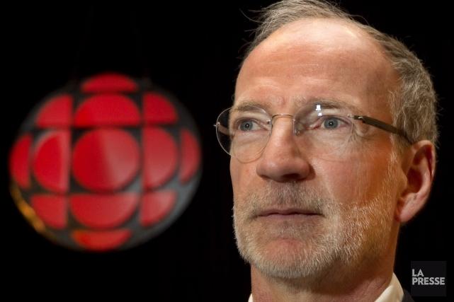 Hubert Lacroix, PDG de CBC/Radio-Canada, a aussi été... (Photo: Robert Skinner, La Presse)