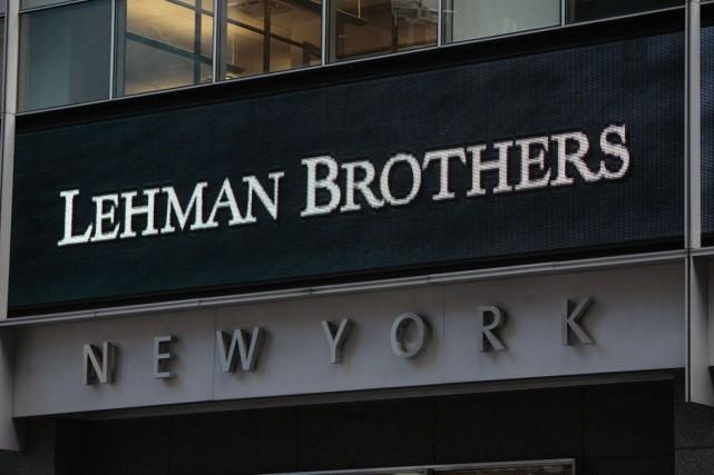 La banque américaine Lehman Brothers Inc va restituer 4,6 milliards de dollars... (PHOTO ARCHIVES AFP)