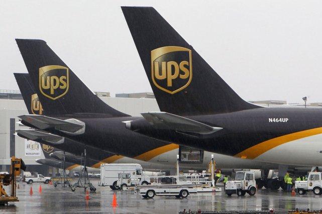 Le groupe américain de messagerie United Parcel Service (UPS)... (Photo archives Reuters)