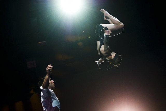 Alexandre Lane et Émilie Fournier forment le duo... (Photo Attila Kisbenedek, AFP)