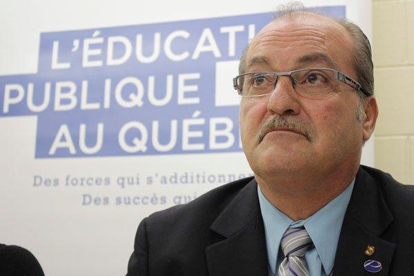 Le président de la CSPO, Jocelyn Blondin... (Etienne Ranger, Archives, LeDroit)