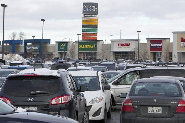 Le magasinage, sport national des Québécois: ruée vers... (Photo: Hugo-Sébastien Aubert, archives La Presse)