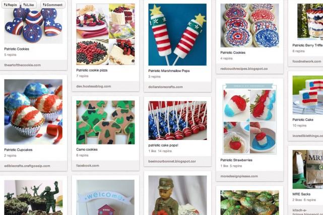 Le site Pinterest, très populaire auprès des femmes,... (Photo fournie par Pinterest, Archives)