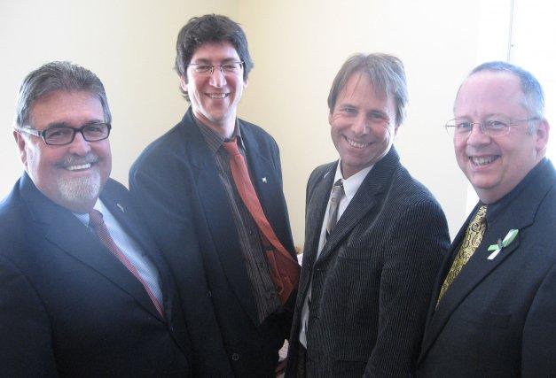 Le ministre délégué aux Transports du Québec et... (Jessy Laflamme)